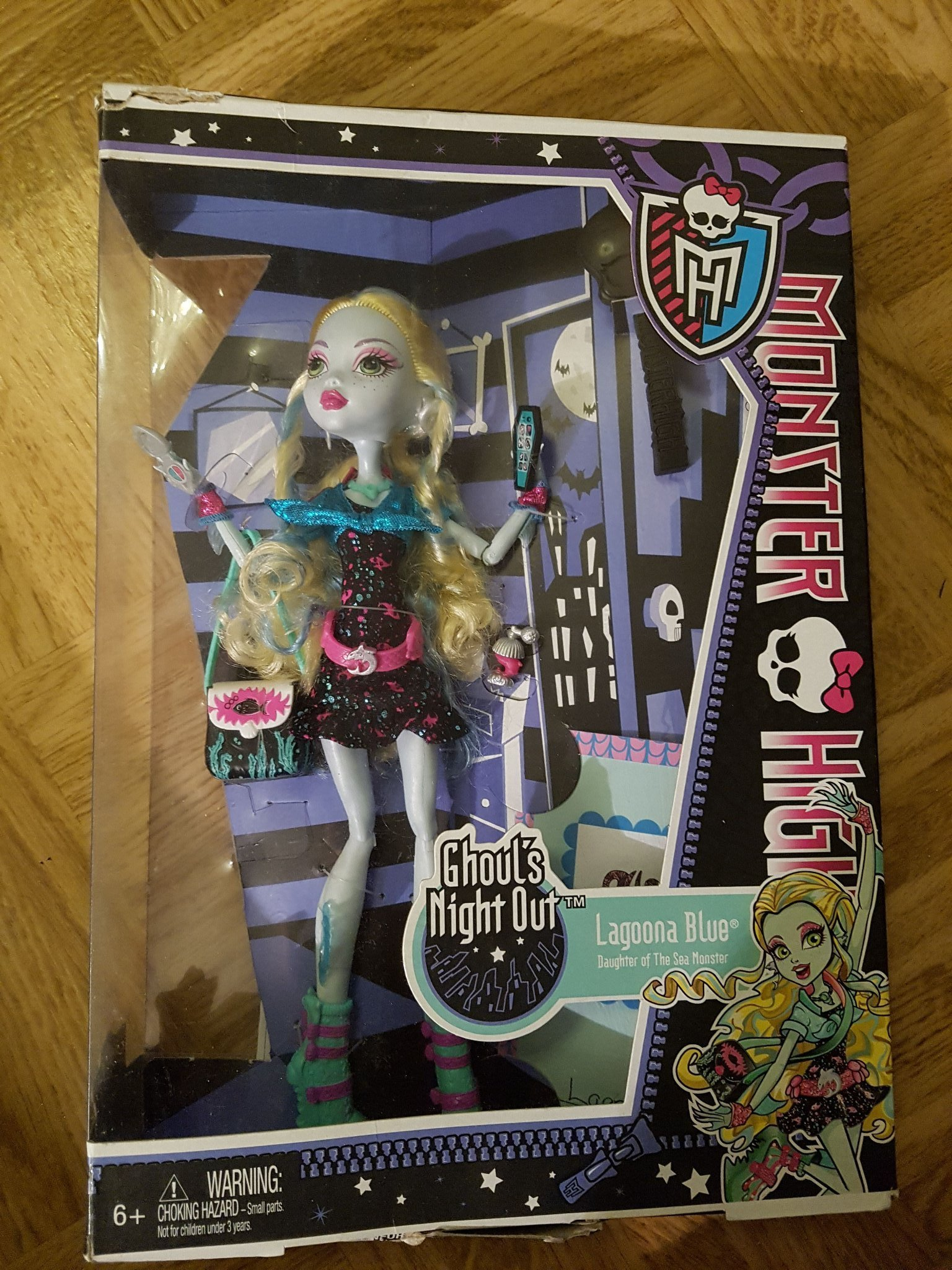 Monster High Ghoul's Night Out Lagoona Blue