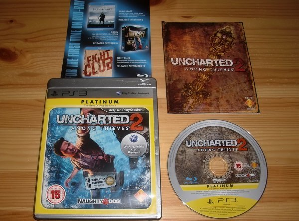 PS3: Uncharted 2 Among Thieves