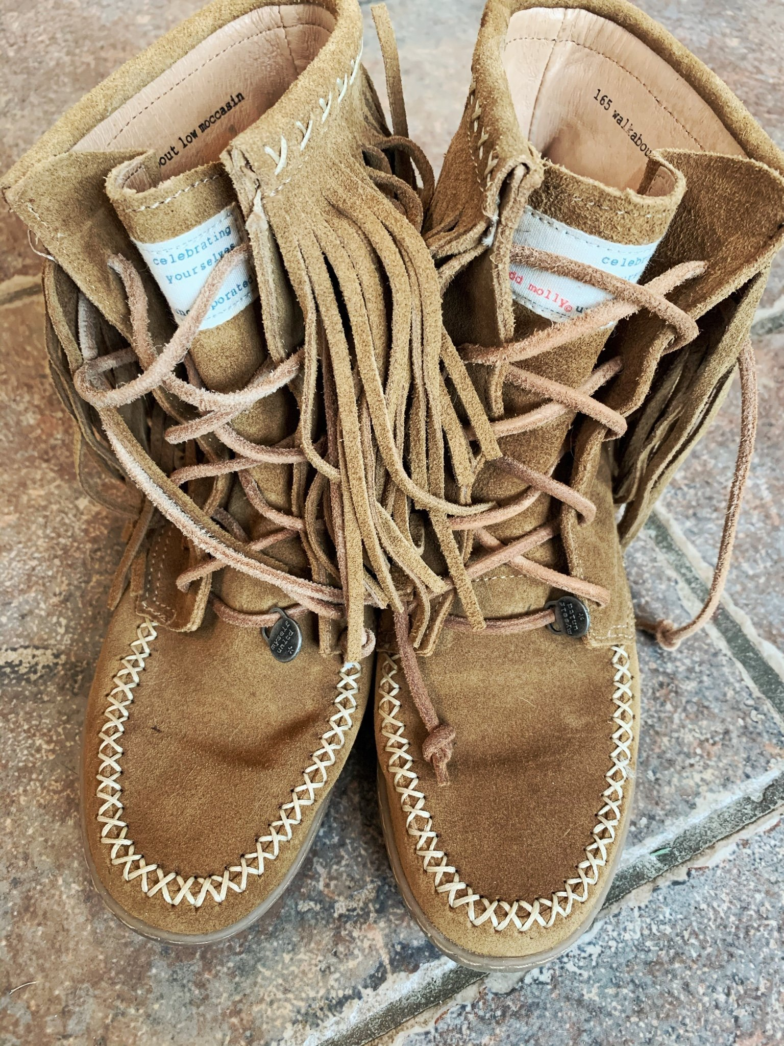 Odd Molly walkabout low moccasin stl 36