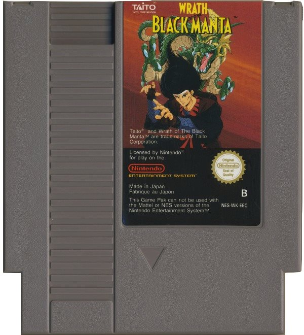 Wrath of the Black Manta - NES - Kassett