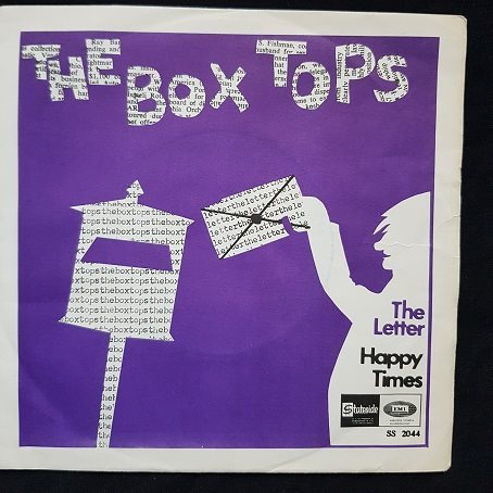The Box Tops   45/PS   1967