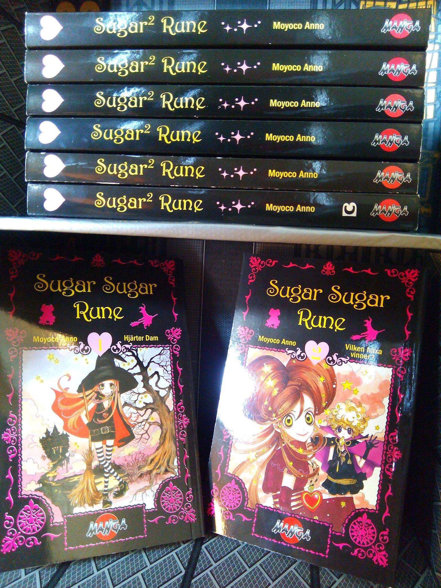 Sugar Sugar Rune 1-8 manga Moyoco Anno [alla nu   (346864151) ᐈ Köp