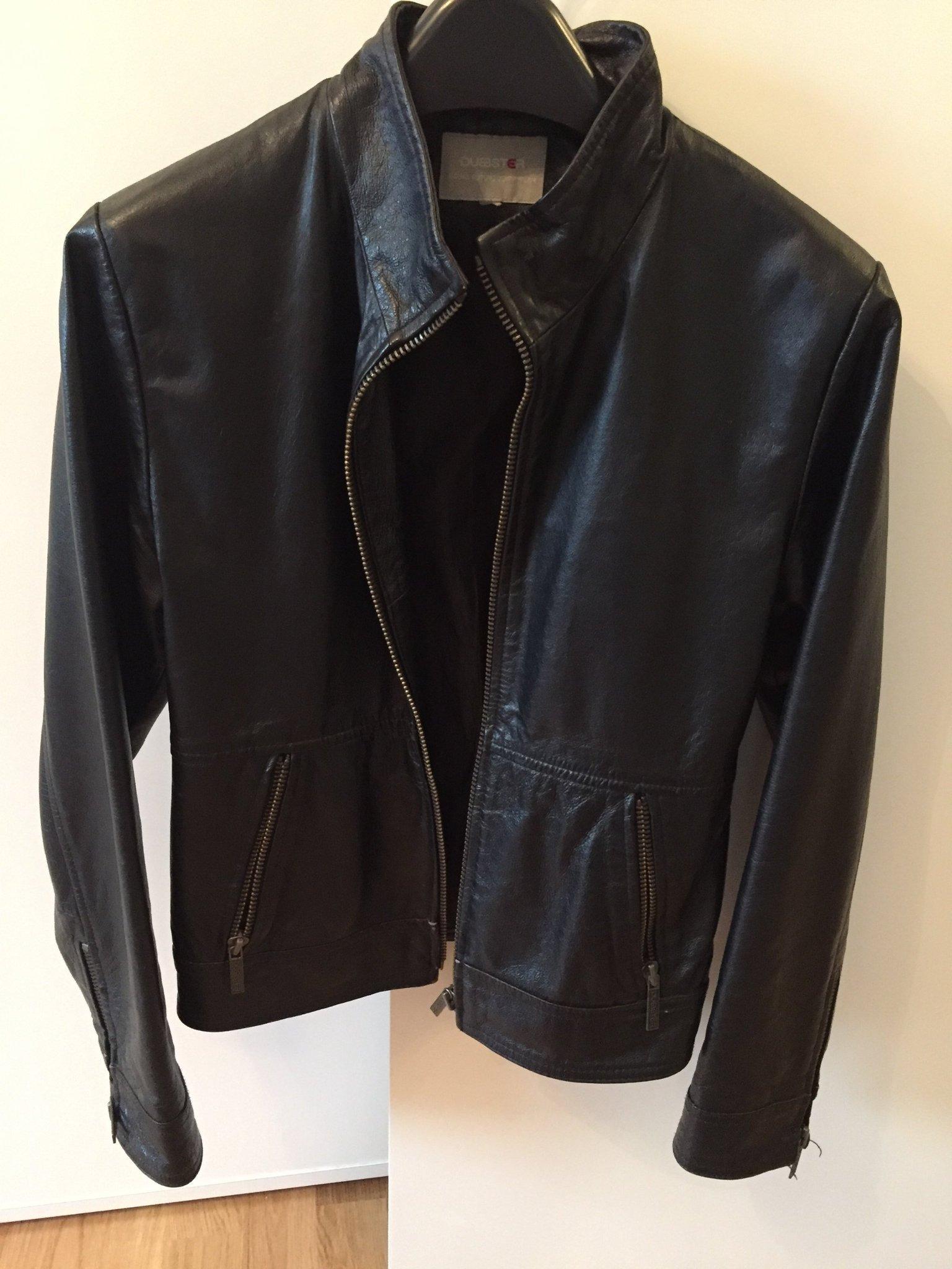 Skinnjacka svart storlek H&M i typ str 164 (399841105) ᐈ