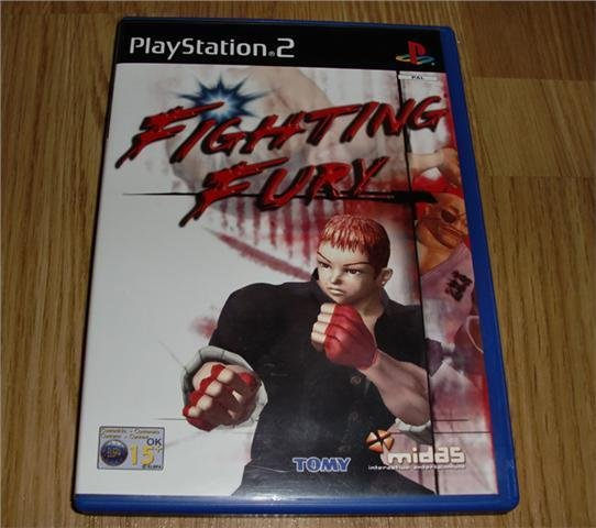 PS2: Fighting Fury (ny)