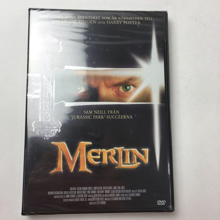 f712bfa84df DVD Video, DVD-Film, Merlin (338230781) ᐈ Sellpy på Tradera