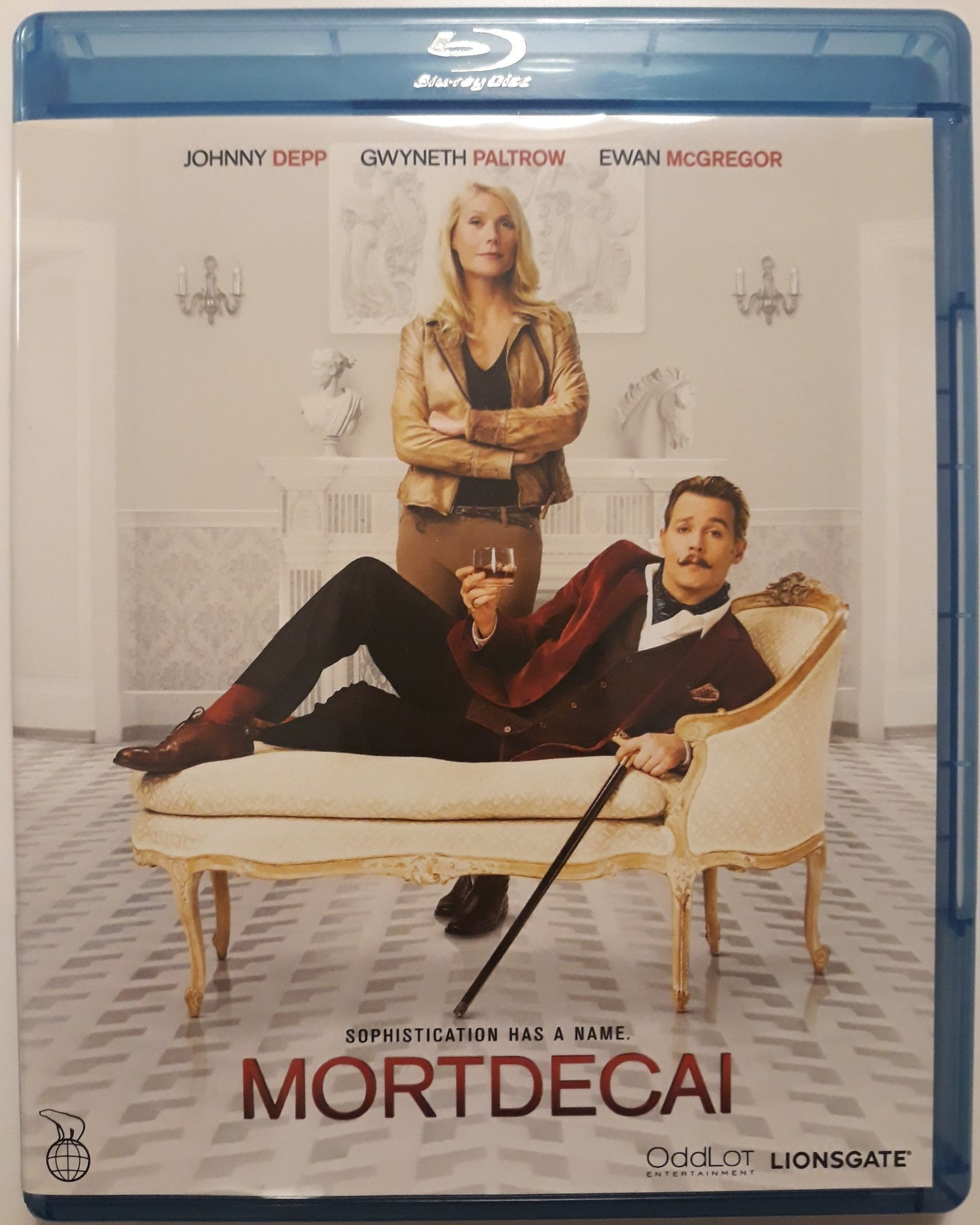 MORTDECAI    blu ray