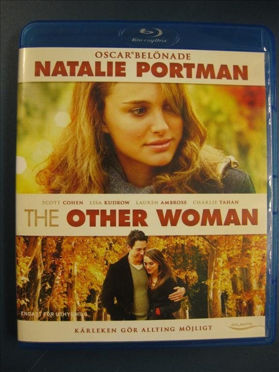 THE OTHER WOMAN  - NATALIE PORTMAN  - KÄRLEKSDRAMA -  BLU-RAY