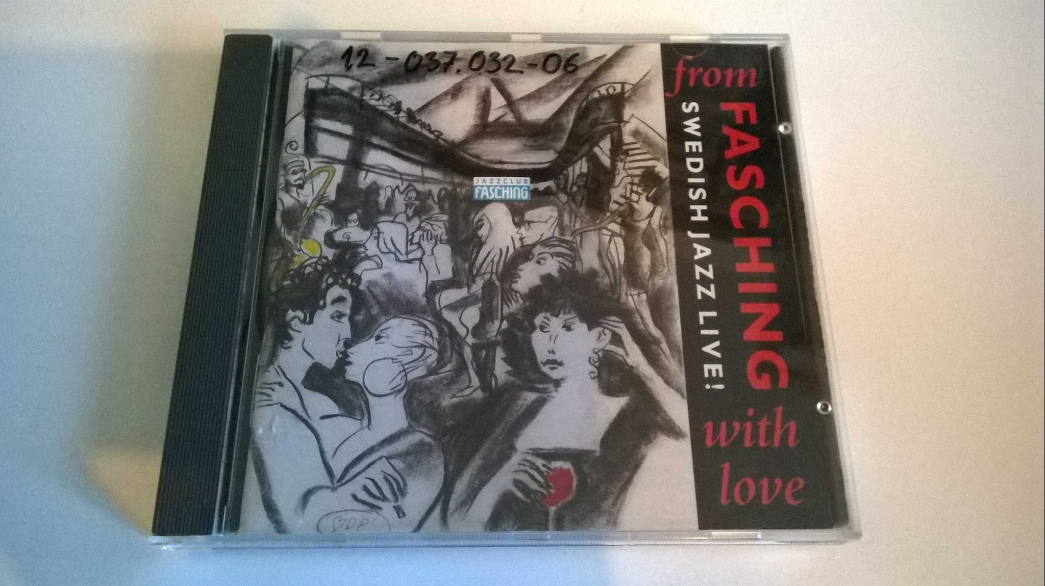 From Fasching With Love (Swedish Jazz Live!), CD