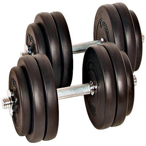 hantlar med vikter