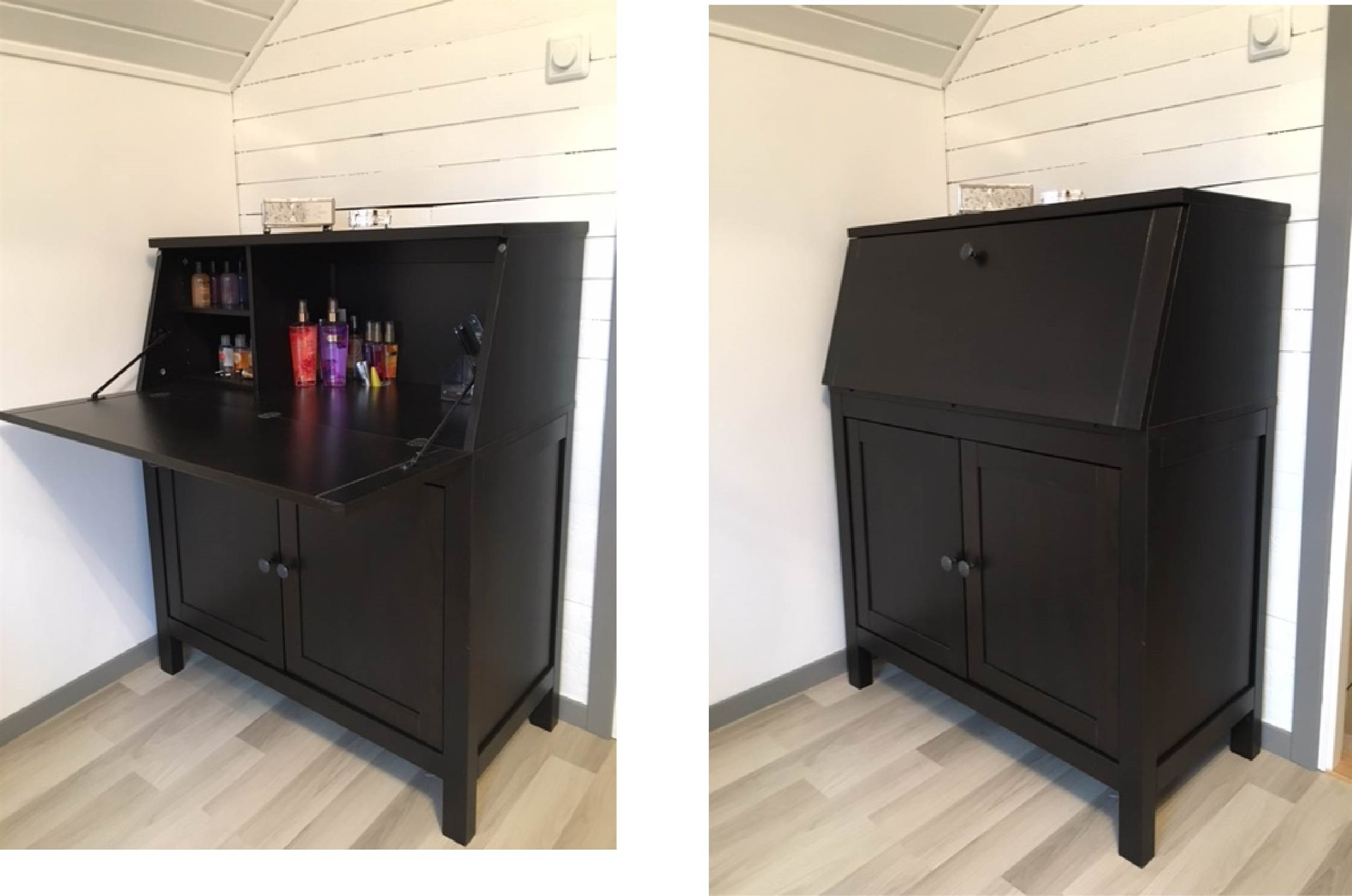 hemnes sekret r ikea ny i kartong p vriga m bler. Black Bedroom Furniture Sets. Home Design Ideas