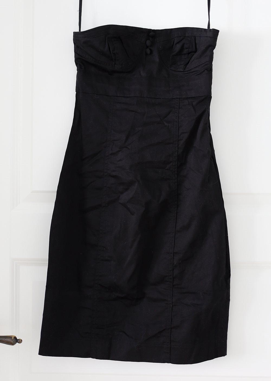 klänning utan axelband