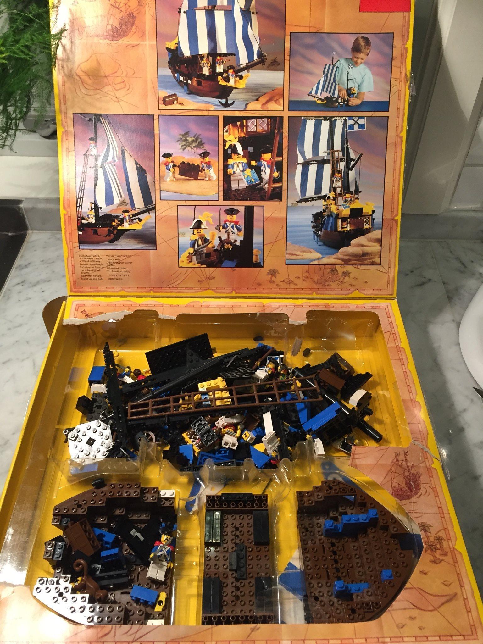 Lego Lego Lego piratskepp 2d7e3a