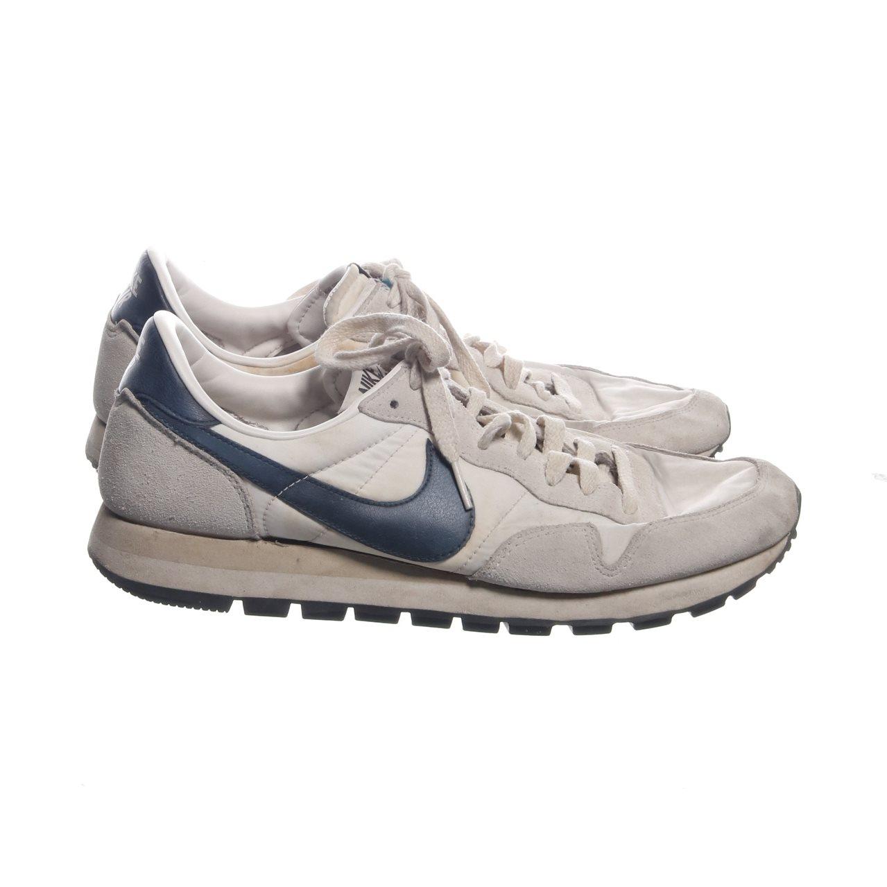 quality design 29f9f 7ae19 nike air, Sneakers, Strl  44, Vit Mörkblå