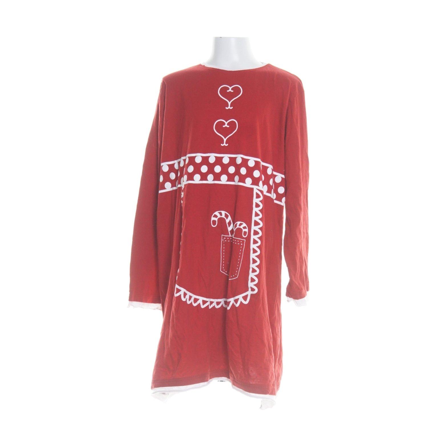 Maskeraddtäkt Röd klänning med huva