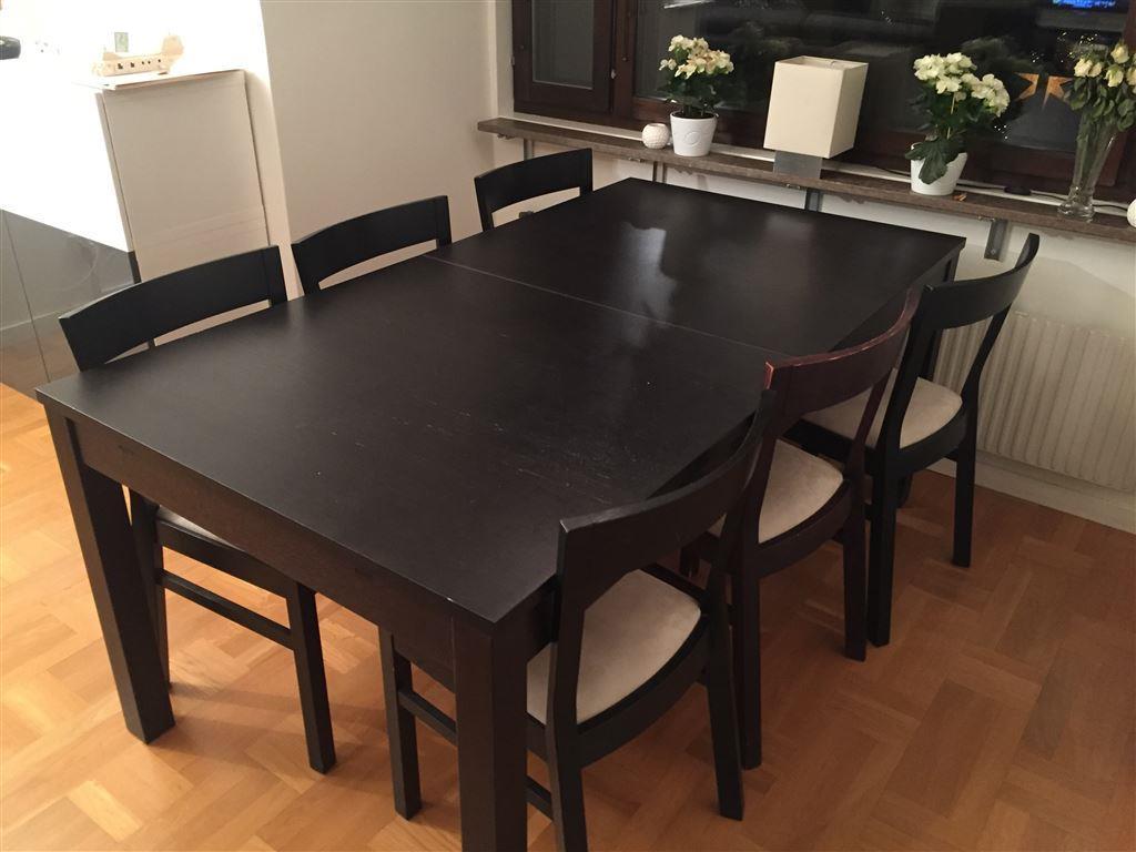 Matbord För 10 Personer : Matbord och stolar ikea quot bjursta roger på tradera