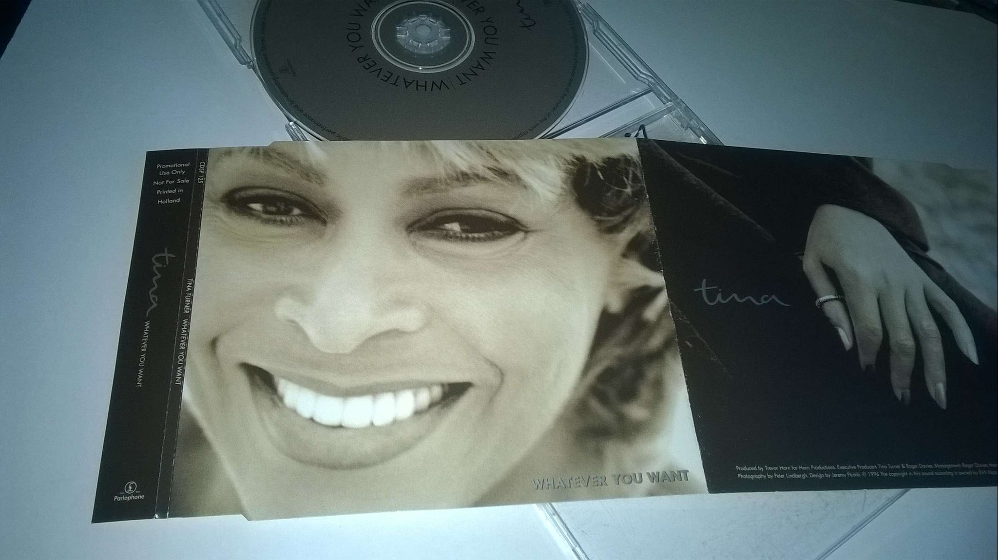 Tina Turner - Whatever you want, CD, Single, Promo
