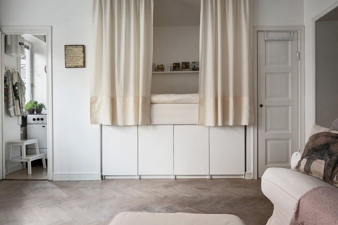 Sängstomme med förvaring för 140x200cm säng på Tradera com Sängar för