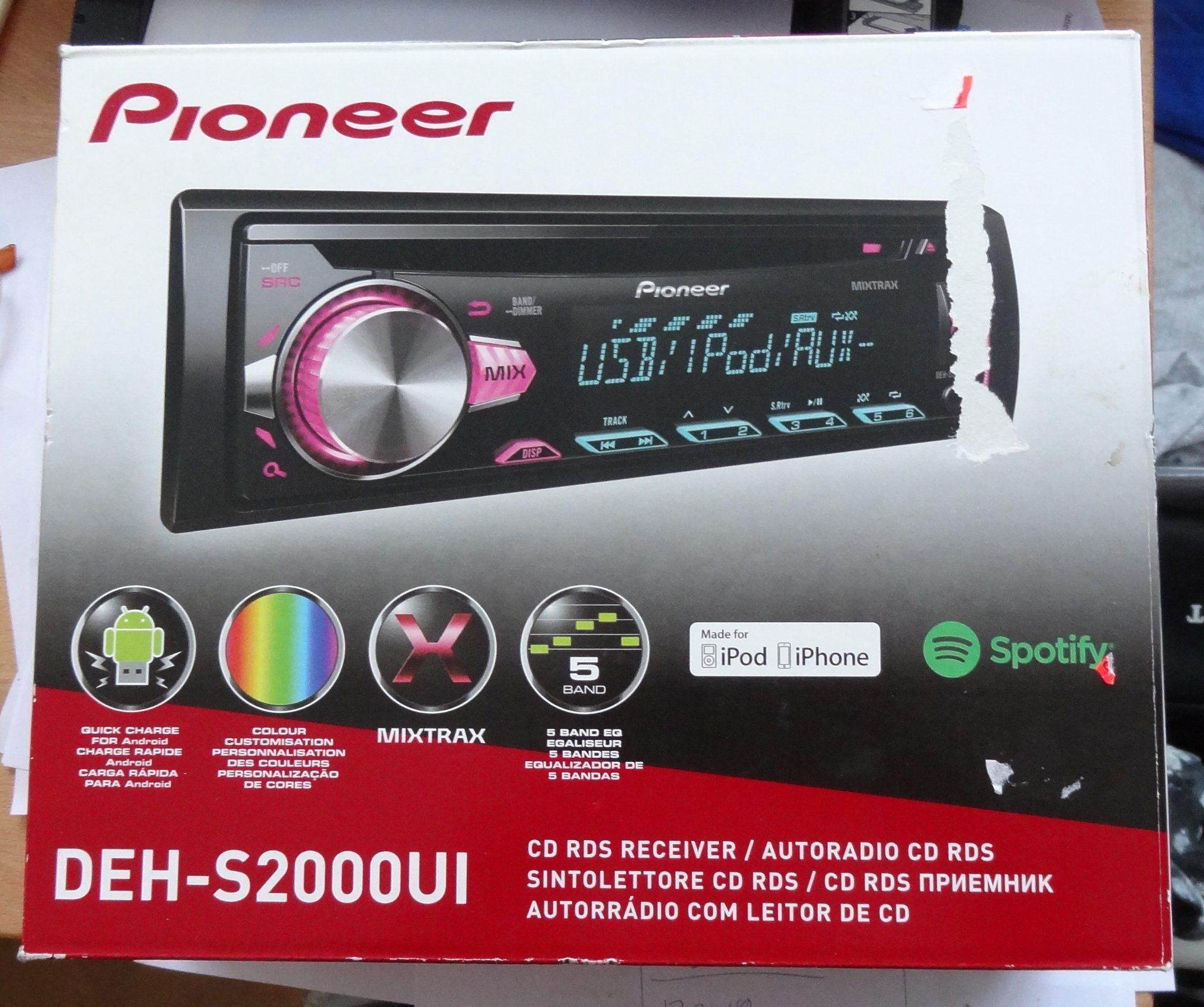 Bilstereo Pioneer DEH-S2000UI - USB - Iphone - .. (337894613) ᐈ Köp ... fde35da144e50