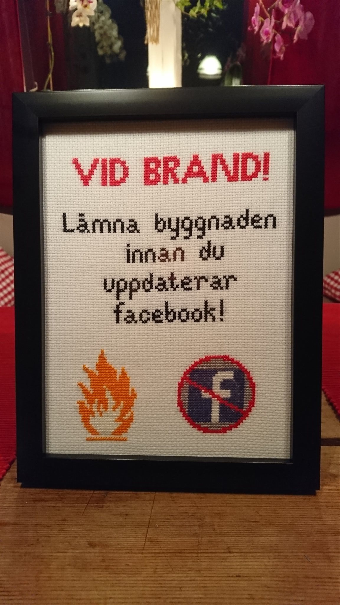 tavlor med budskap på svenska
