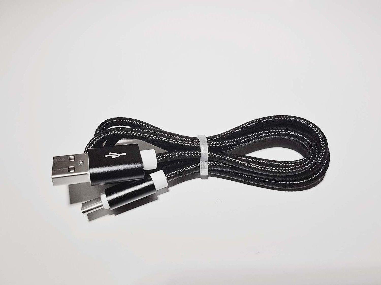 Laddkabel USB C Snabbladdning   Kabel USB C typ c   Ny Svart