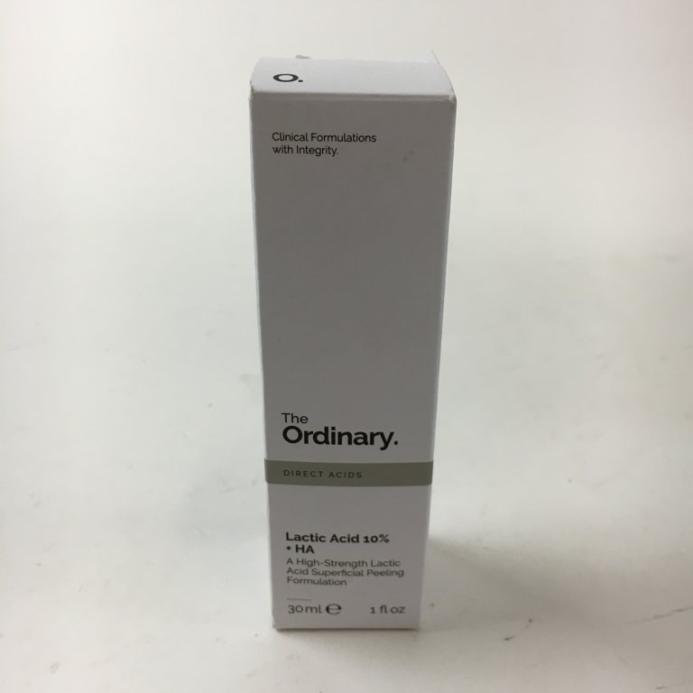 The Ordinary, Ansiktsolja, Latic Acid 10% + HA, 30 ml, 90% kvar