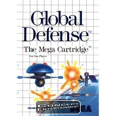 GLOBAL DEFENSE (i box) till Sega Master System