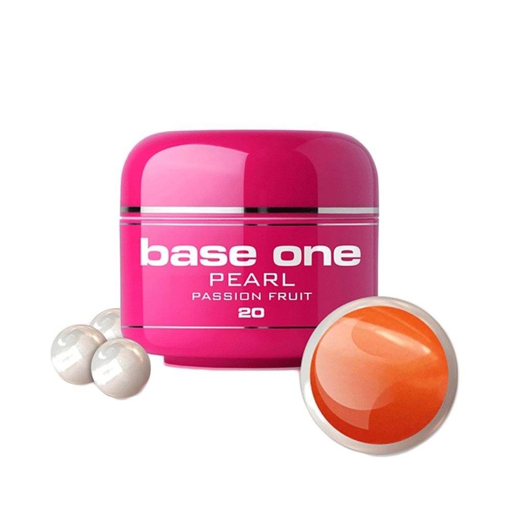 Base one - Pearl - Passion fruit 5g UV-gel