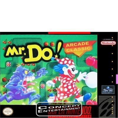 MR DO till Super Nintendo SNES