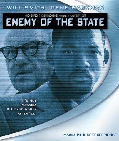 [Blu-Ray] Enemy of the State (Will Smith, Gene Hackman)