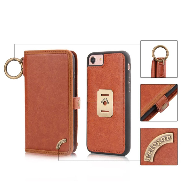 iPhone 7   8 Stilrent läder fodral - Brun (299094764) ᐈ WePack på ... f22ae93a6bab3
