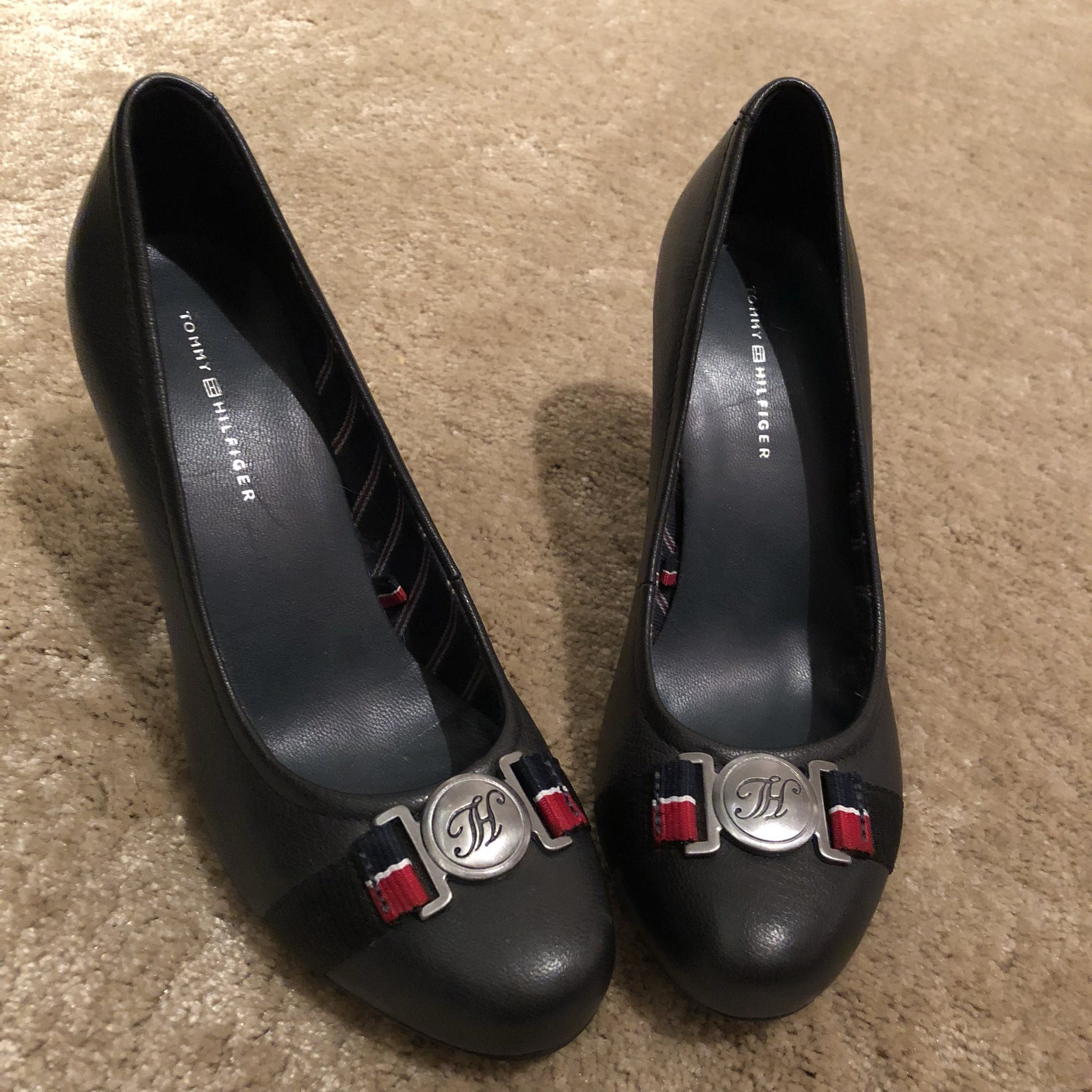 NY Tommy Hilfiger skor pumps högklackat svart m.. (340078488) ᐈ Köp ... b938e34182723