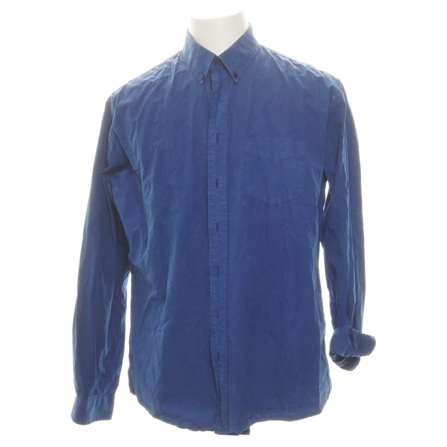 Schnayderman's, Oxfordskjorta, Strl: 43, Blå