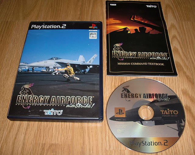 PS2 Japan: Energy Airforce aimStrike! ★