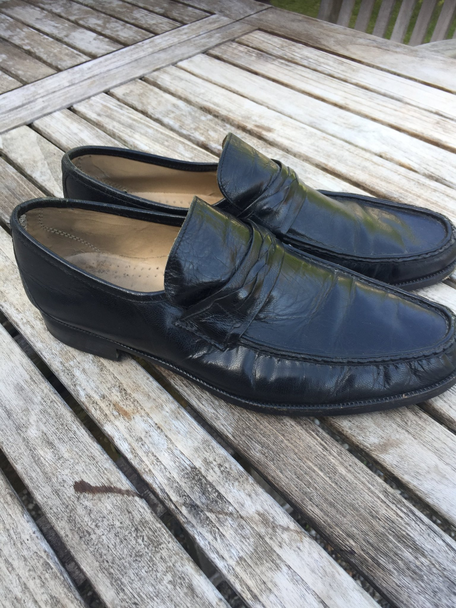 snygga loafers herr