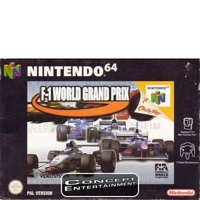 F1 WORLD GRAND PRIX till Nintendo 64, N64