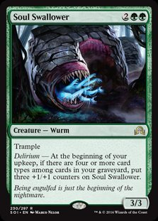 1x Foil Soul Swallower Magic the Gathering MTG Shadows over Innistrad
