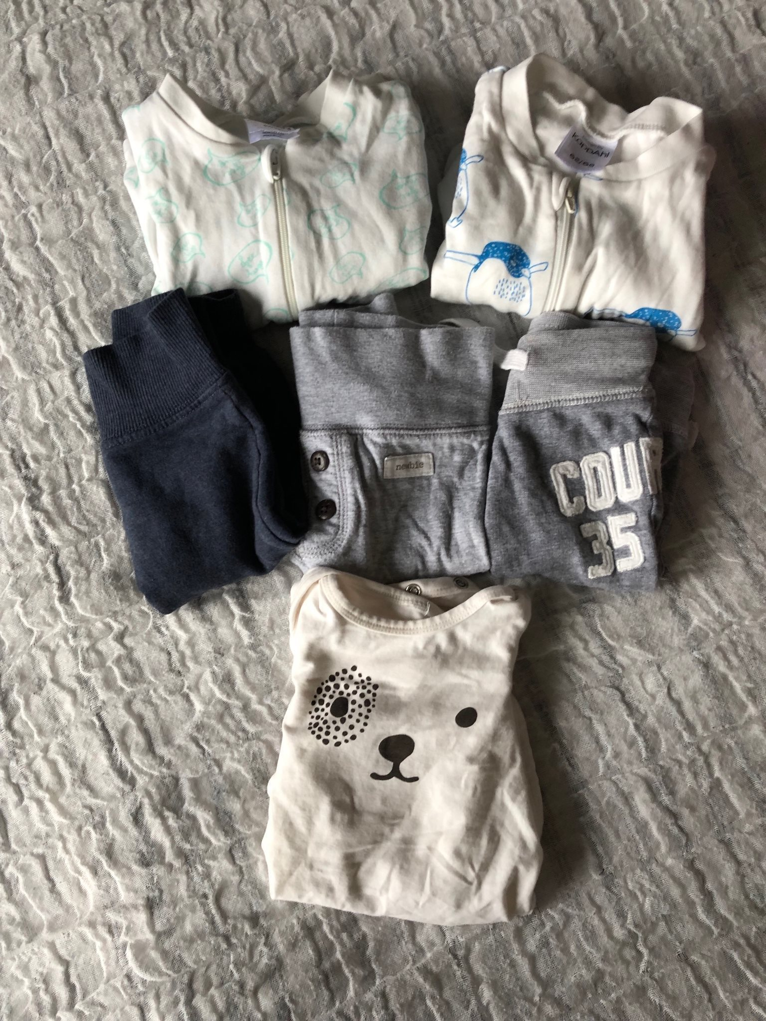 Klädpaket med barnkläder storlek 62 (H M 21aa8f3aeb060