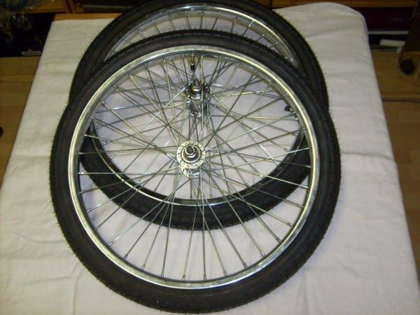 Kända 2 st cykelhjul 20