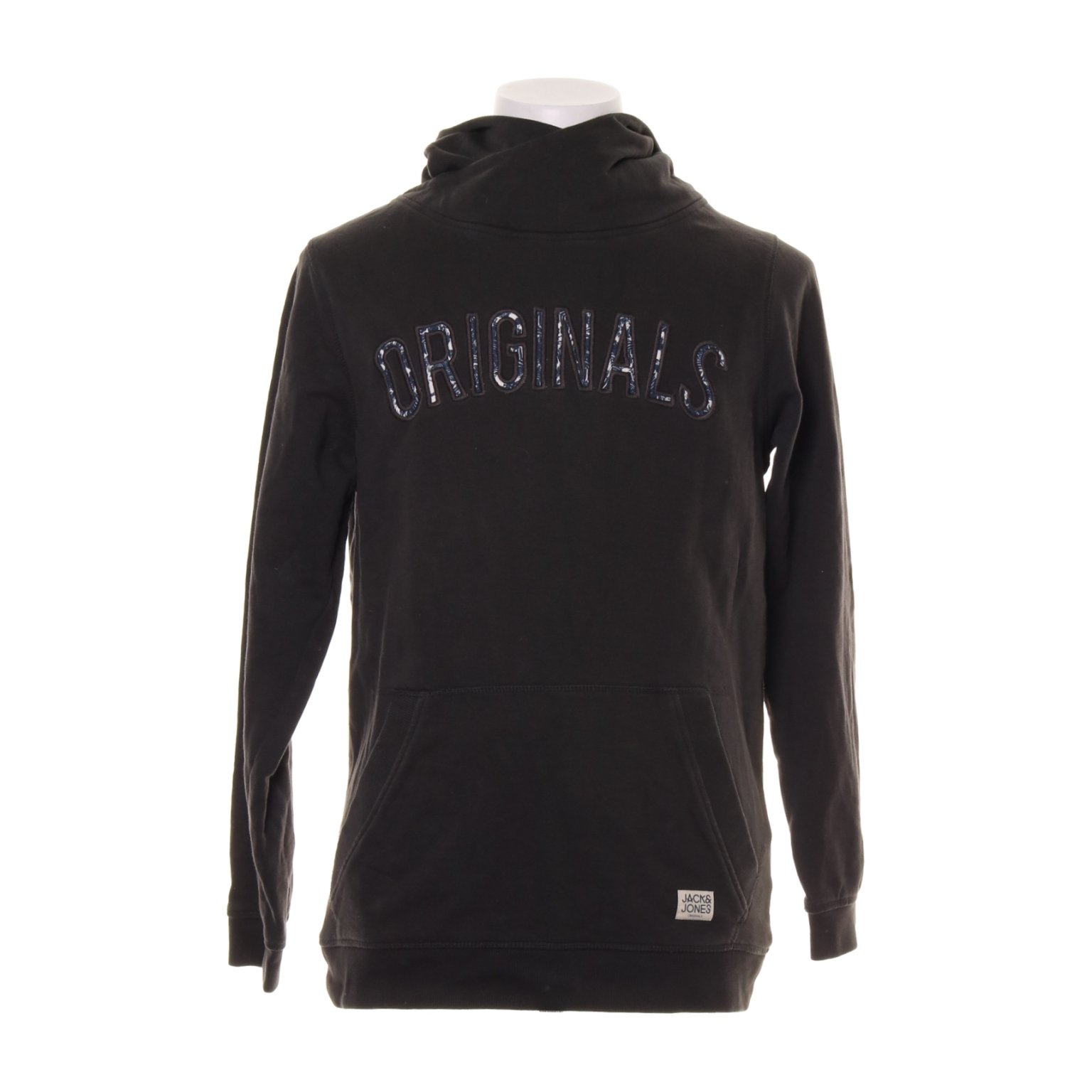 Originals by Jack & Jones, Huvtröja, Strl: S, 12076780, Svart, Bomull