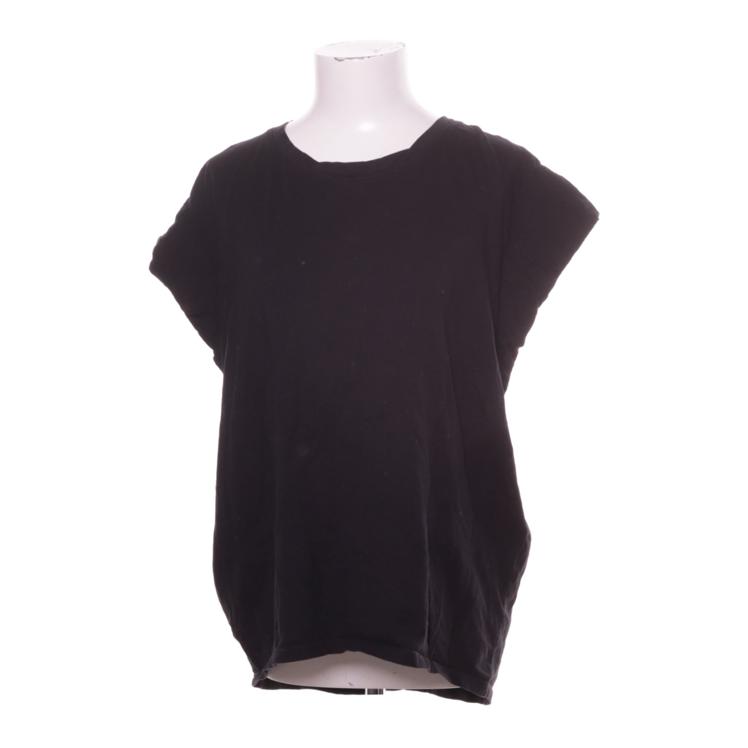 Zara Woman / Basic Collection, T-shirt, Strl: L, Svart, Bomull