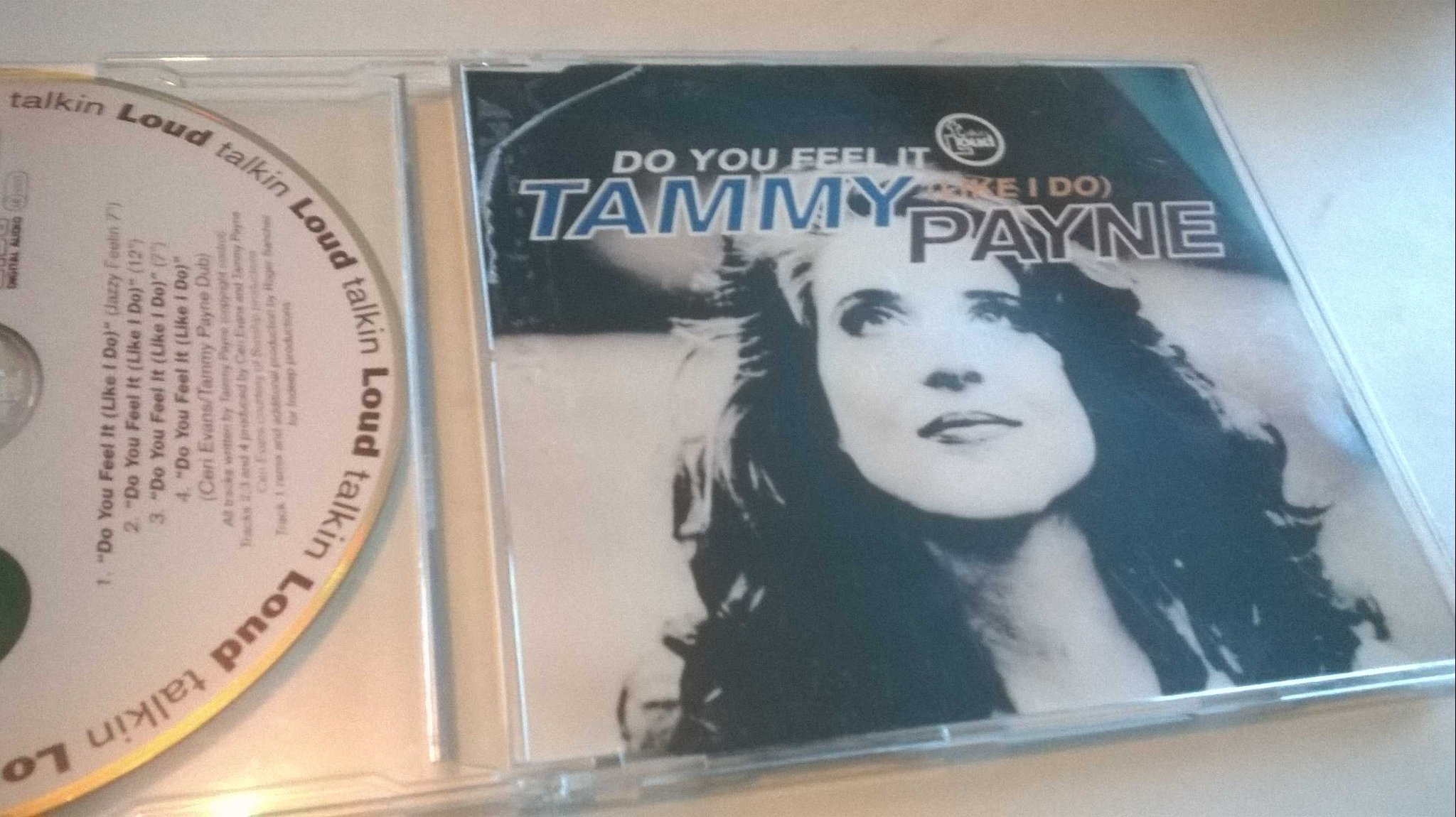 Tammy Payne - Do you feel it (like I do), CD, single