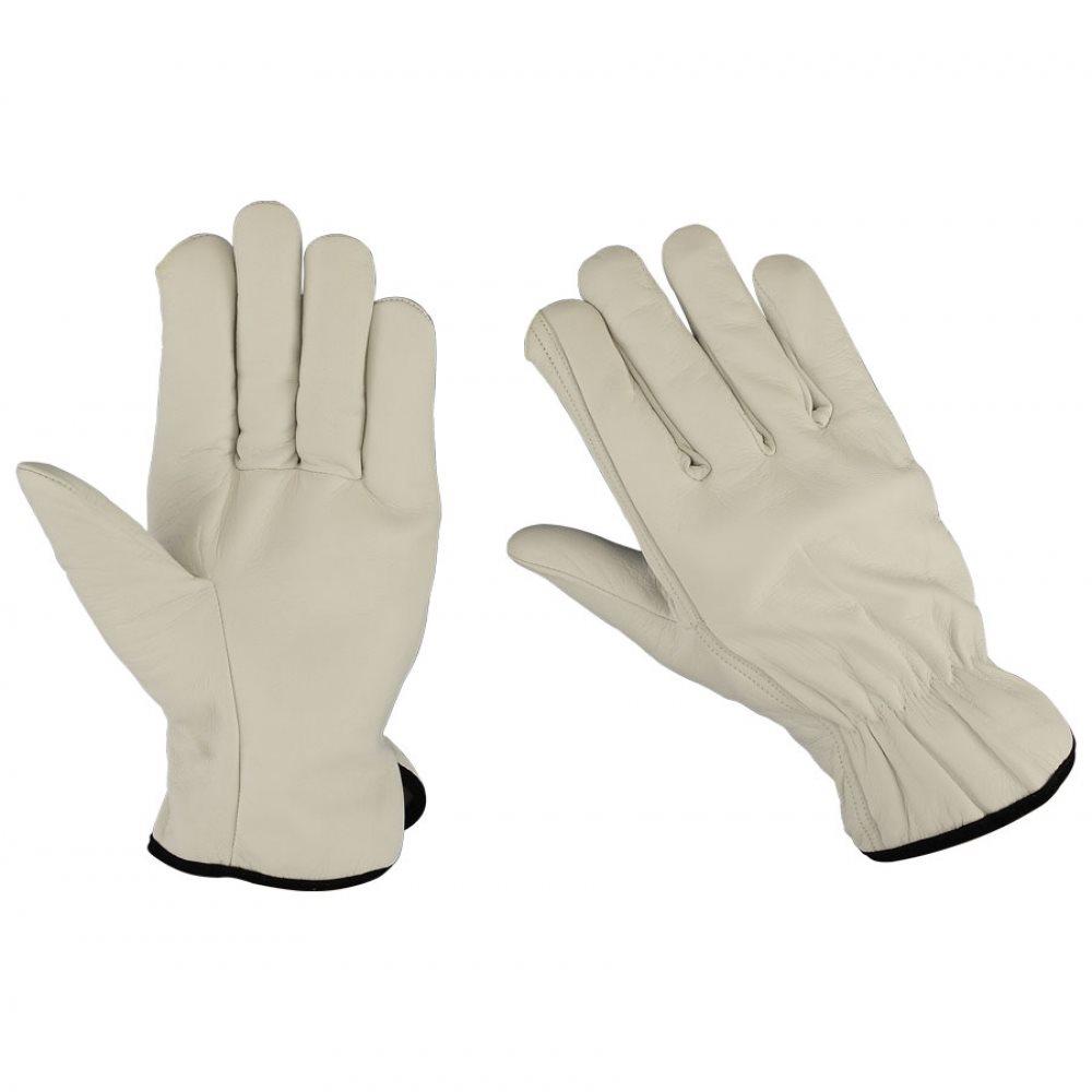 Trofé Custom Handske Vit Deerskin XXL.