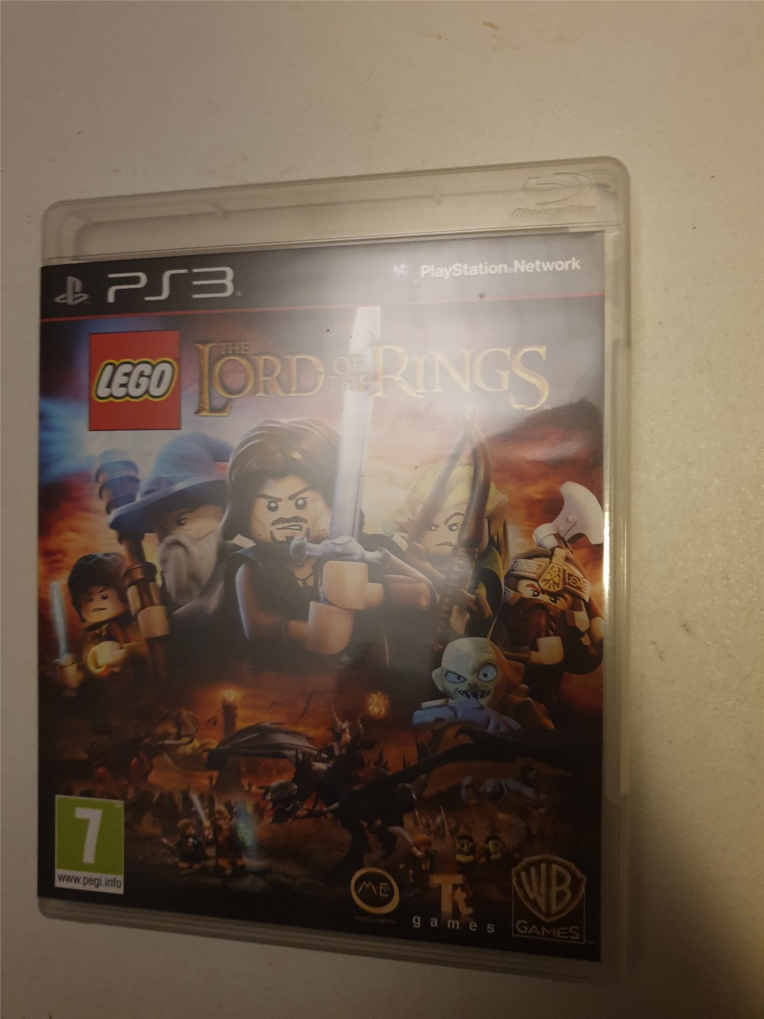 PS3 - Spel: Lego Lord of the Rings