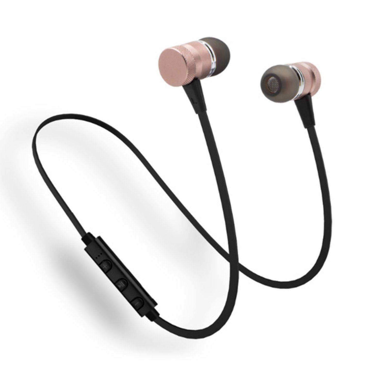 Bluetooth Hörlurar - Guld (324908616) ᐈ Macskal på Tradera 8a82d0589d688