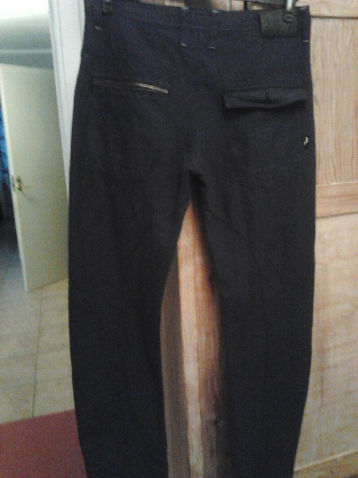 Jeans denim laundry färg svart storlek 36/34