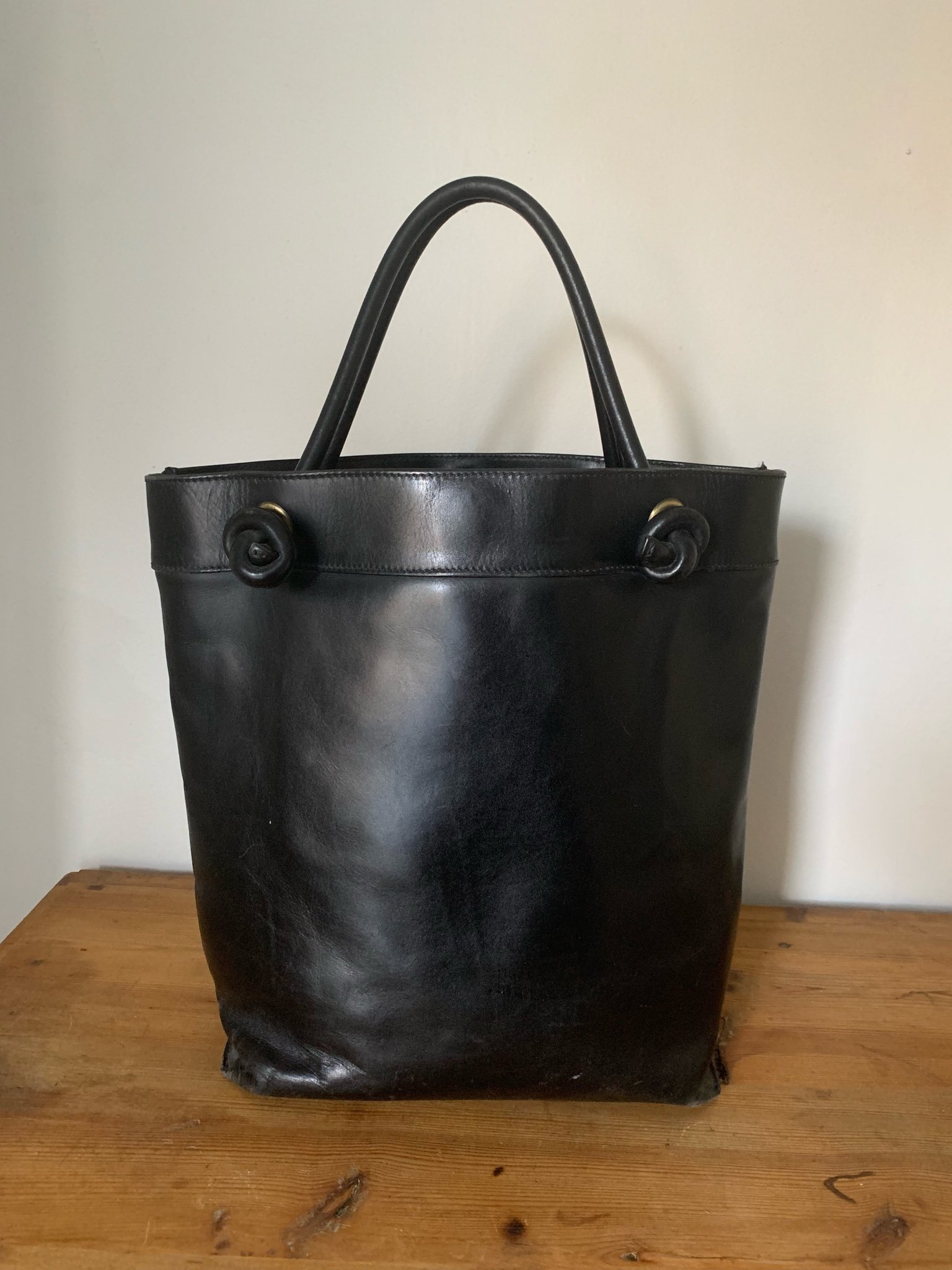 ACNE - Leather Knot Tote Bag