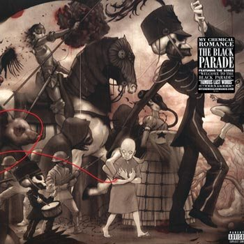 Image result for my chemical romance black parade