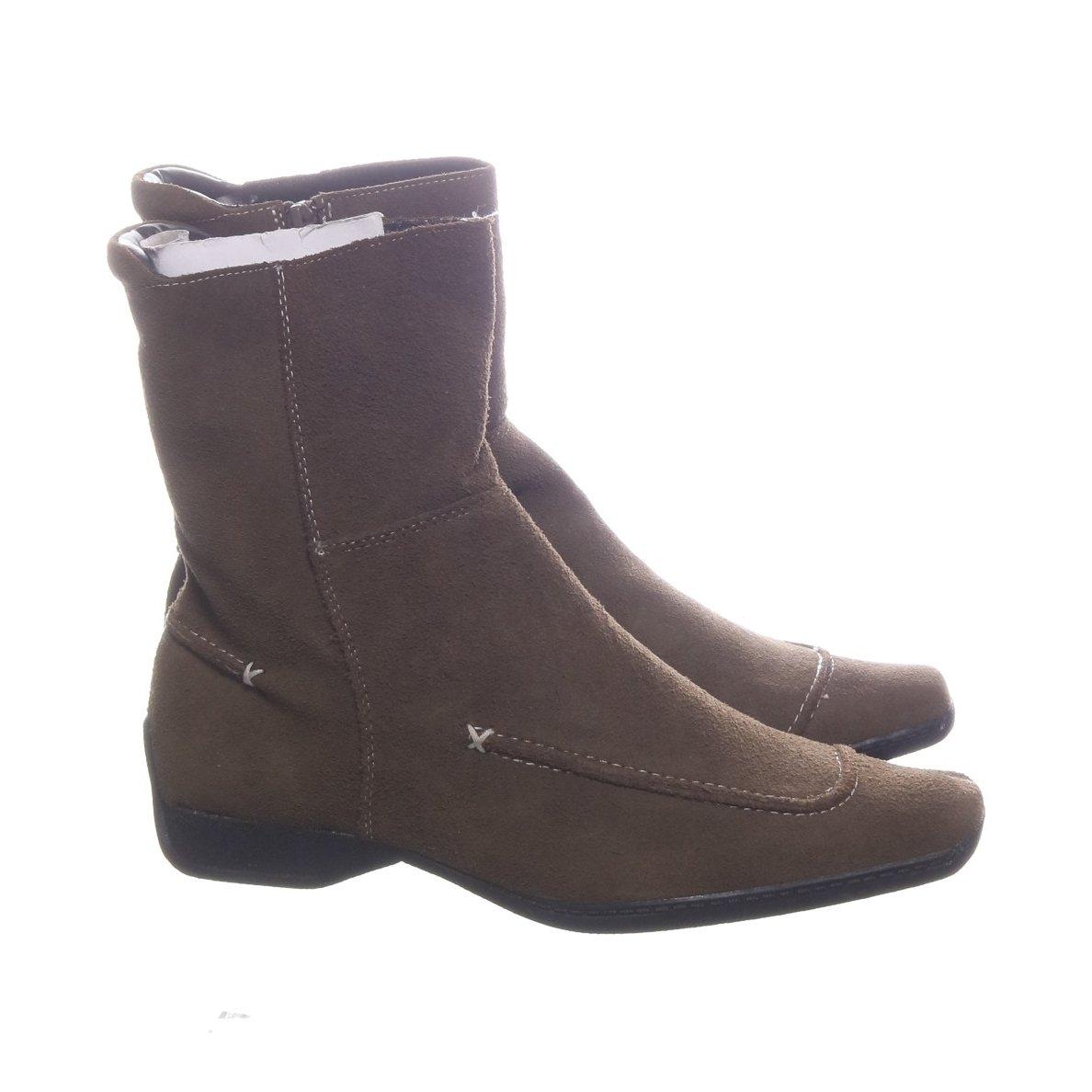 gröna mocka boots