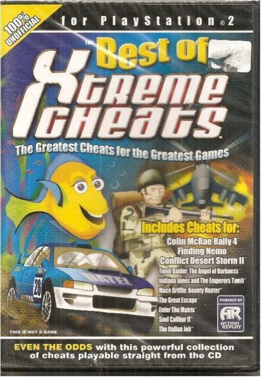 ULTIMATE CHEATS TO PS2 -BEST OF X TREME CHEATS (INPLASTAT)