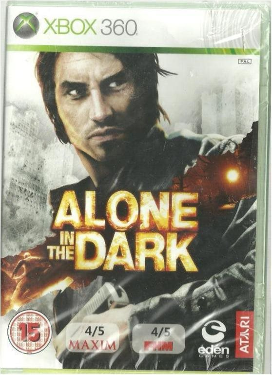ALONE IN THE DARK  (INPLASTAT XBOX 360 SPEL)
